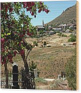Ghosts Path To A Ghost Town Virginia City Nv Wood Print