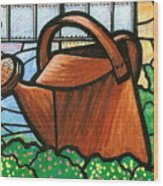 Giant Watering Can Staunton Landmark Wood Print