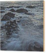 Giant's Sunset Wood Print