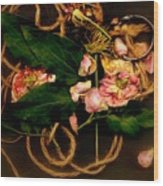 Giardino Romantico Wood Print
