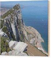 Gibraltar Wood Print