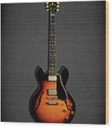 Gibson Es 335 1959 Wood Print