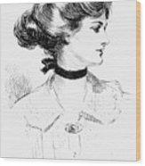 Gibson: Gibson Girl, 1905 Wood Print