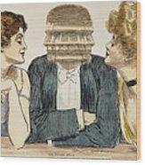 Gibson Girls, 1903 Wood Print