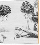 Gibson Girls 1904 Wood Print