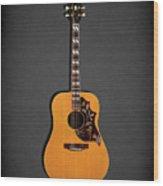 Gibson Hummingbird 1968 Wood Print