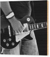 Gibson Les Paul Guitar  Wood Print