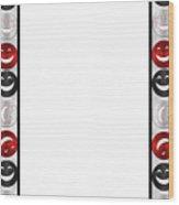 Giddy Rbs Striped Wood Print
