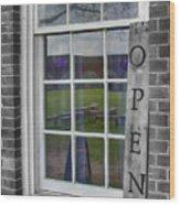Gift Shop Window Wood Print