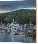 Gig Harbor 01 Wood Print