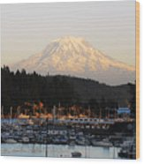 Gig Harbor Wood Print