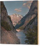 Gigerwaldsee Wood Print