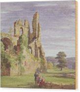 Gight Castle, 1851 Wood Print