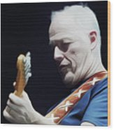Gilmour By Nixo Wood Print