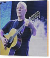 Gilmour Guitar By Nixo Wood Print