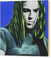 Gilmour Neon Nixo Wood Print
