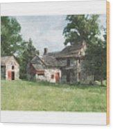 Gilpen House Wood Print