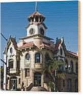 Gilroy's Old City Hall Wood Print