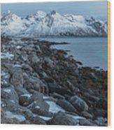 Gimsoy, Lofoten - Norway Wood Print