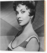 Gina Lollobrigida, Ca. Late 1950s Wood Print by Everett