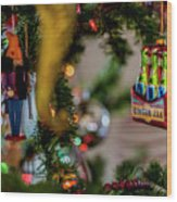 Ginger Ale On Christmas Tree 4392 Wood Print