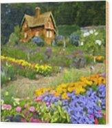 Ginger Cottage Wood Print