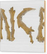 Ginger Ginger Wood Print