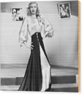 Ginger Rogers (1911-1995) Wood Print