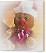 Gingerbread Man Wood Print