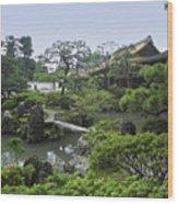 Ginkaku-ji Zen Temple No. 1 - Kyoto Japan Wood Print