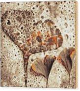 Ginko Wood Print