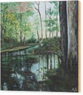 Ginny Springs Wood Print