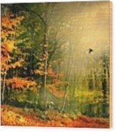 Giorno E Finito Wood Print