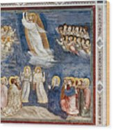 Giotto: Ascension Wood Print