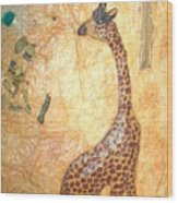 Giraffe   SOLD  Wood Print
