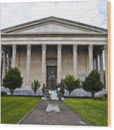 Girard College Philadelphia Wood Print