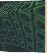 Girders Wood Print