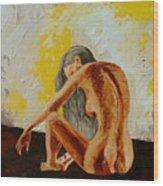 Girl Nude 1 Wood Print