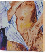 Girl Nude 4 Wood Print