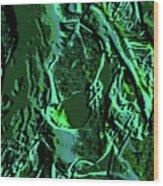 Girl Of Green Wood Print