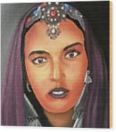 Girl Of Morocco Wood Print