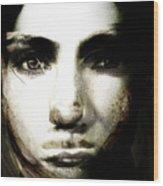 Girl With No Name Wood Print