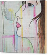 Girl10 Wood Print