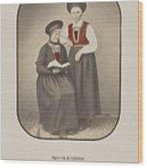 Girls From Kvinherred Wood Print