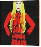 Girls Wood Print