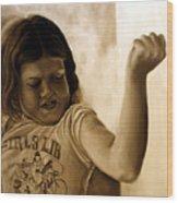 Girl's Lib Wood Print