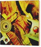 Gismo P. Kajigger 9.0_long Is The Way Wood Print