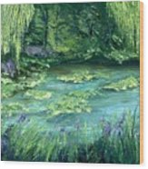 Giverny Wood Print