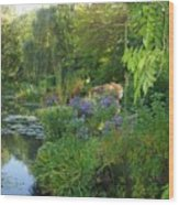 Giverny Vi Wood Print