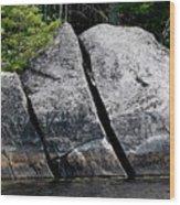 Glacial Artifact Wood Print